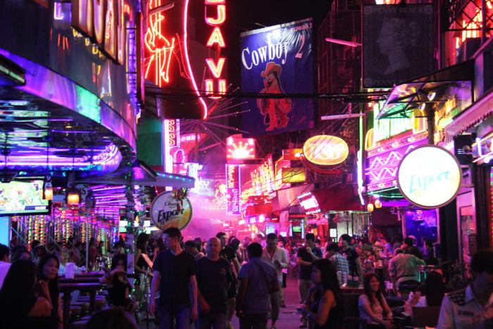 Patpong - centrum asijské neřesti.