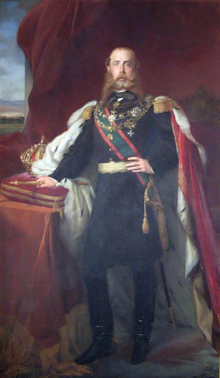 Jako Maxmilián I. Mexický se stal Ferdinand Maxmilián Habsburský mexickým císařem. Jeho vláda ale trvala jen 3 roky a skončila svržením revolucionáři a císařovou popravou zastřelením.