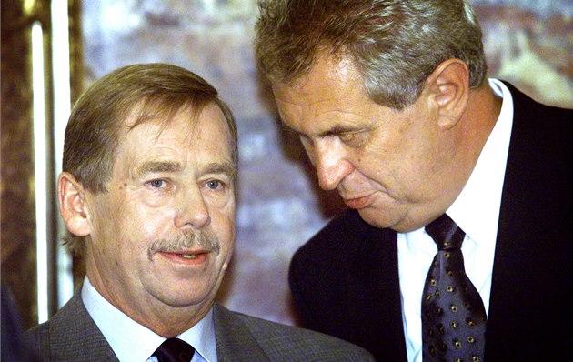 Konečně by Zeman mohl být v něčem jako Havel.