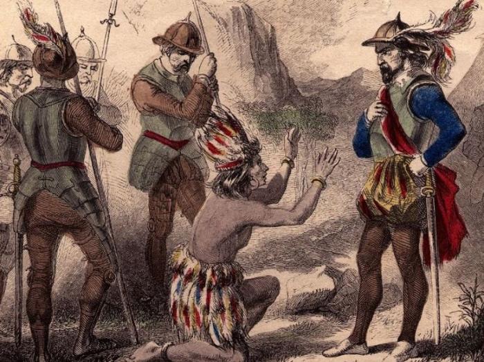 Inkové nepovažovali Španěle za bohy, ale za vraždíci idioty a to zcela po právu.