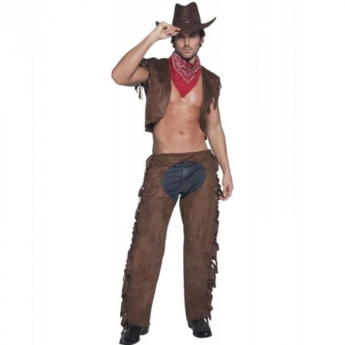 Ale jo. I dneska můžete být kovbojem. Stačí mít odepínací kalhoty s dírou na zadku a svíjet se u tyče v klubu