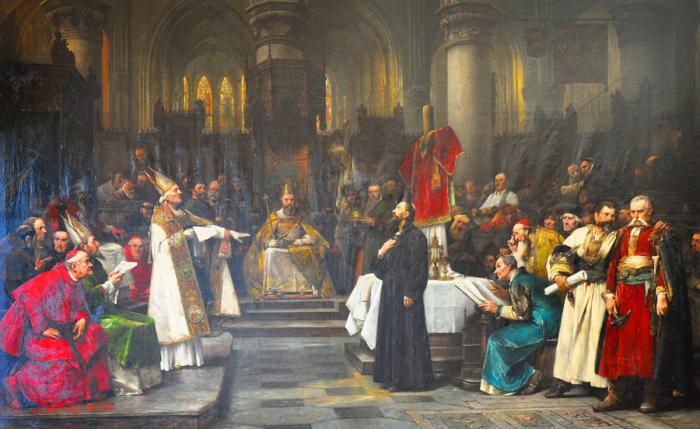 Kostnický koncil řešil úplně jiné záležitosti a tak se raději mistra Jana Husa rychle zbavil, než aby mu dopřál spravedlivý proces.