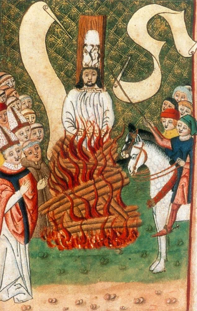 Hus zemřel, protože byl církvi nepohodlný. Na hledání konkrétních důvodů této nepohodlnosti nebyl vzhledem k tehdejší situaci moc čas.