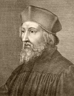 Asi nejznámější podobizna Jana Husa dokonale vystihuje to, jak Hus téměř určitě vůbec nevypadal.