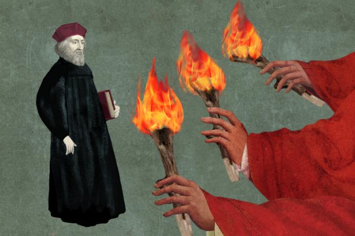 Pro katolickou církev je Hus dodnes rozporuplnou osobností.
