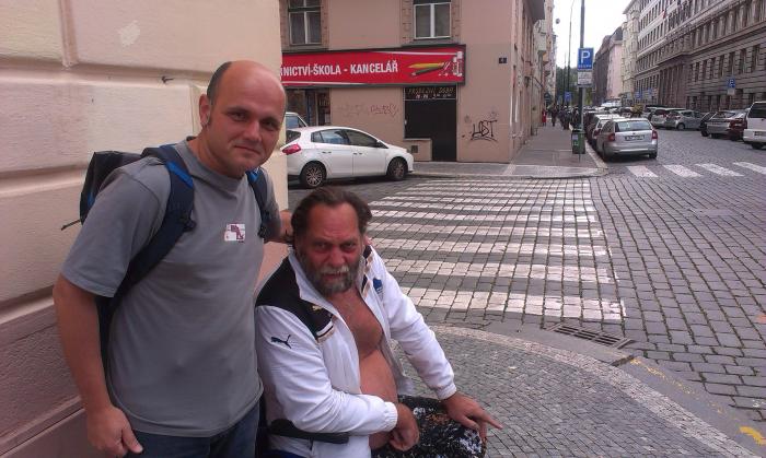 Redaktor g.cz s mužem, kterého se bojí i v Pekingu