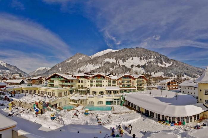 Jeden ze dvou hotelů zaměřených speciálně na děti v Rakousku