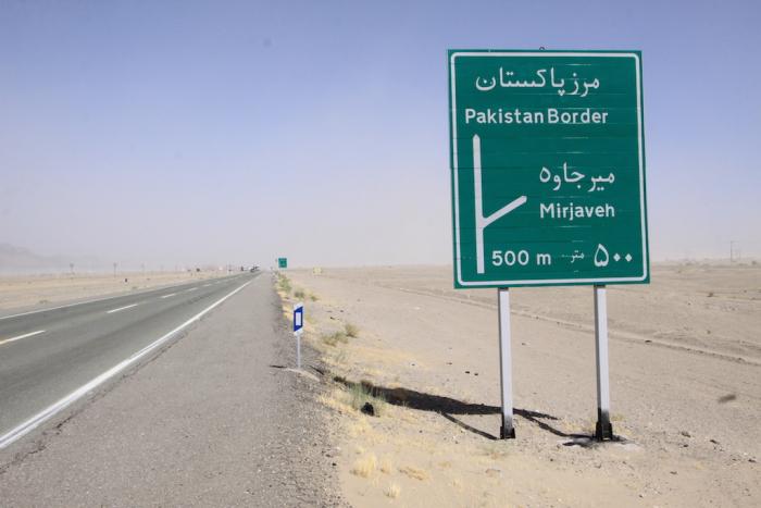 Silnice k pákistánské hranici