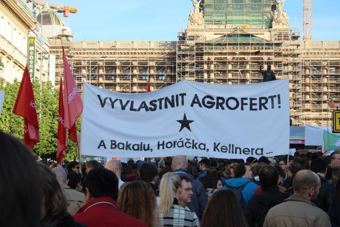 Proti ultralevicovým znárodnňovačům by se dalo protestovat se stejnou vervou jako proti Babišovi.