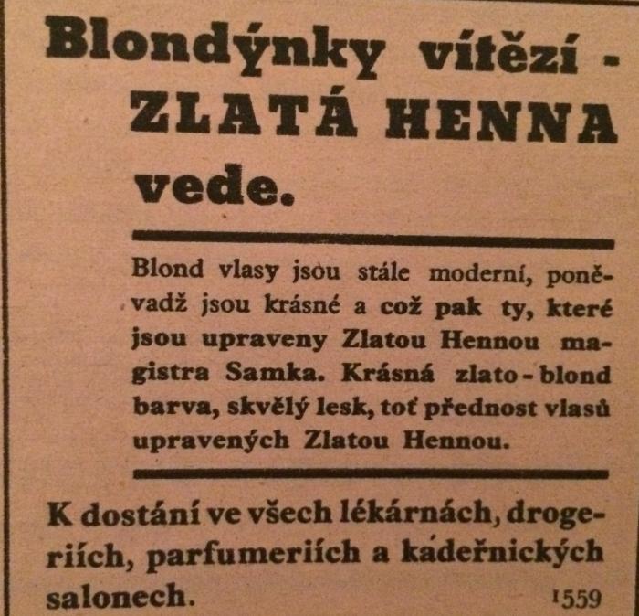Buď blond!