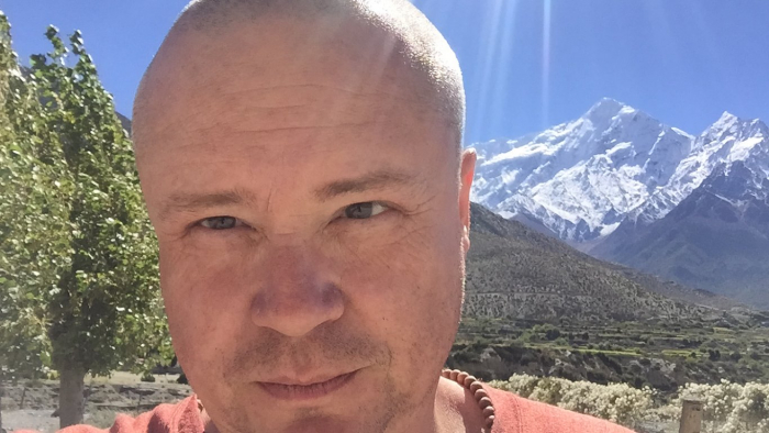 Autor kdesi v Nepálu