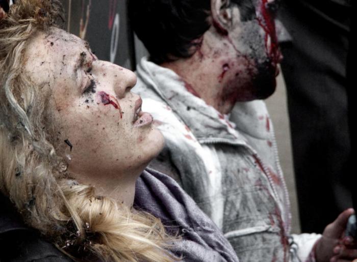 Zranění z moskevského metra
