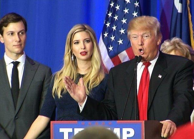 Ivanka spolu se svým manželem Jaredem jsou oba poradci prezidenta. Její vliv na americkou politiku tak narůstá.