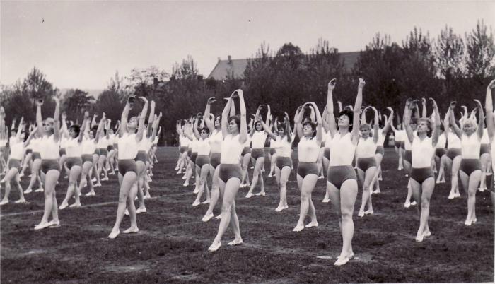 Cvičební úbor pro Spartakiádu v roce 1965 se pro ženy a dívky šil podle průmyslového vzoru Jarmila. Jméno zůstalo jen cvičkám.