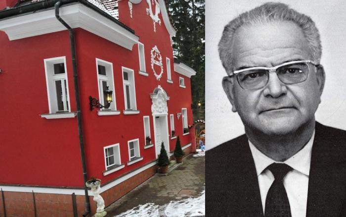 Prvorepubliková vila Elinka v Jevanech u Prahy sloužila za minulého režimu ke konspiračním účelům ministerstva vnitra. V roce 1960 zde téměř rok v utajení strávil Trockého vrah Mercader.