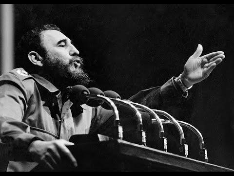 Když Fidel začal řečnit, byl k nezastavení.
