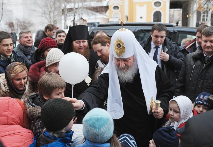 Kirill, patriarcha moskevský - další pán, se kterým by se většina motorkářů nekamarádila. To však neplatí pro Noční vlky.