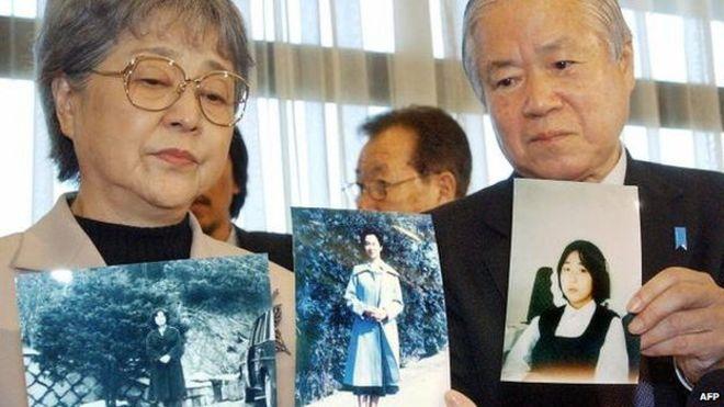 Rodiče jedné z japonských dívek unesených do KLDR dodnes s jistottou nevědí, jestli jejich dcera zemřela nebo je naživu.