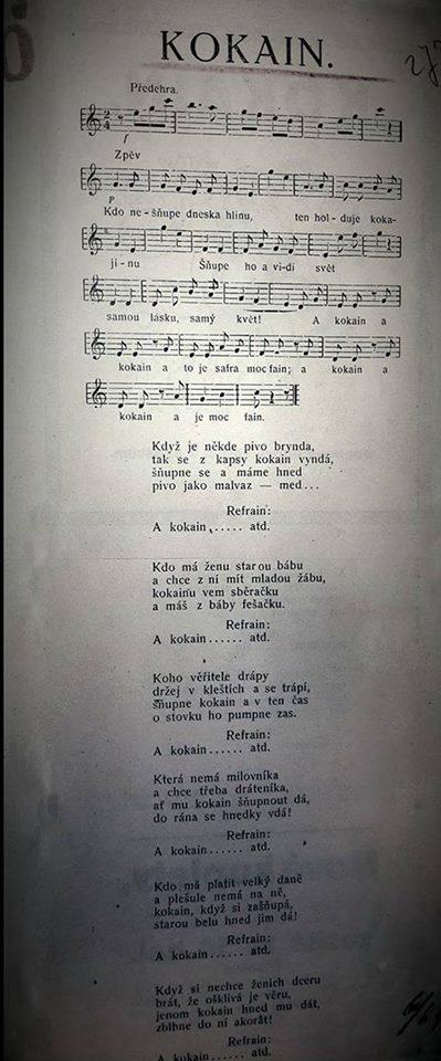 Prvorepubliková píseň jasně ukazuje, že se jednalo o zlaté časy.