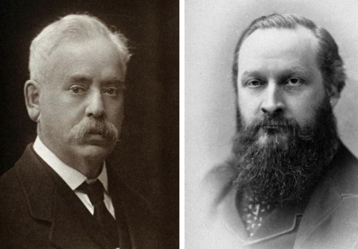 Zakladatelé fakulty psychiatrie a významní britští lékaři  Sir Frederick Mott a Sir Henry Maudsley. Jejich podobizny nyní budou muset z univerzity zmizet, protože jsou moc málo multikulturní.