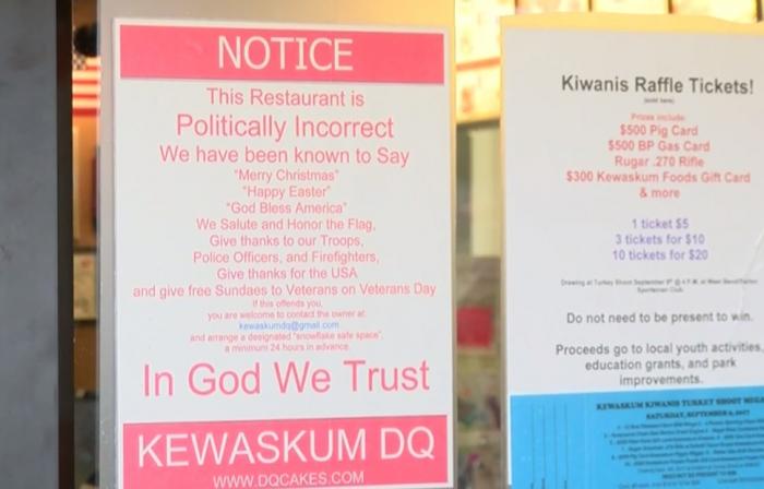 Přejete ve své restauraci zákazníkům veselé Vánoce a Velikonoce? Máme pro vás špatné zprávy, diskriminujete náboženské menšiny.