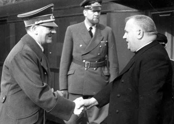 Tiso se setkal s Hitlerem. O tom se Kotlebovi může jen zdát.