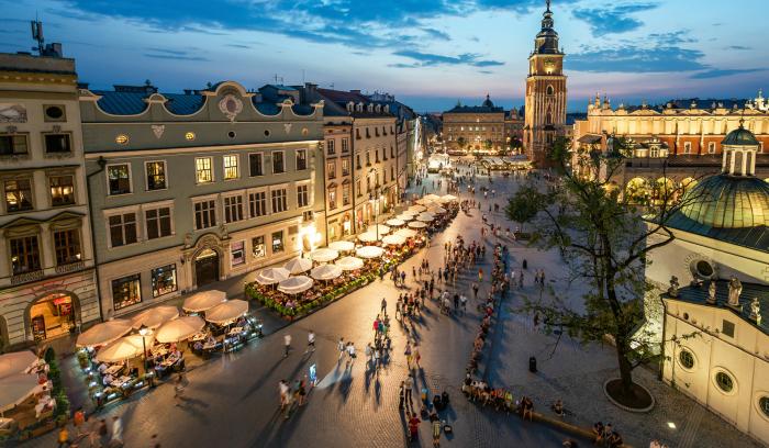 """Krakov je nově nejen v desítce """"nejlepších evropských měst"""", ale dostal se i mezi první města z celého světa"""