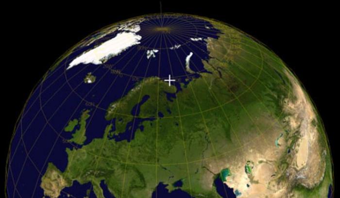 Místo v Barentsově moři, kde došlo k potopení Kursku.