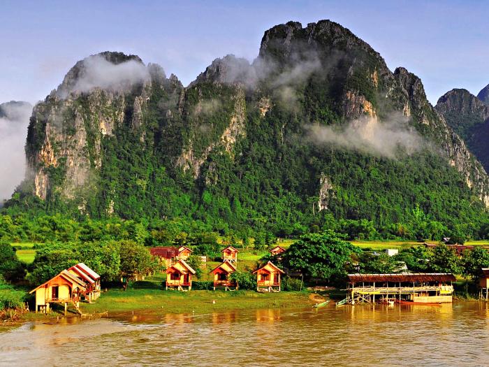 Pokud chcete potkat opravdové lidi bez přetvářky, jeďte do Laosu.