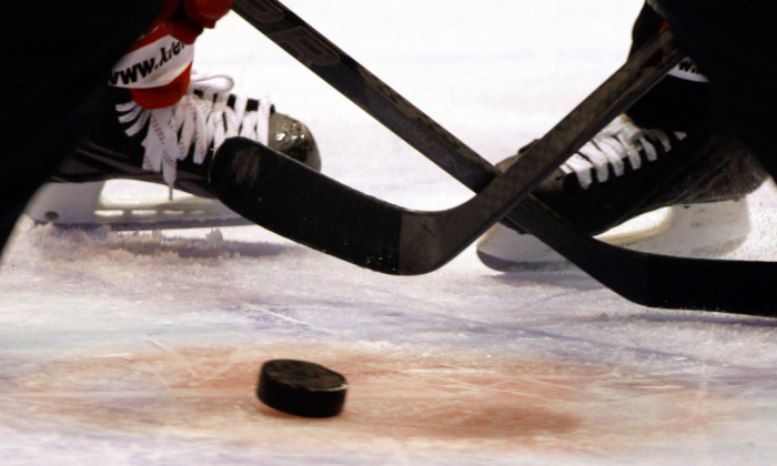 Lední hokej je náročný na výbavu i spoluhráče.