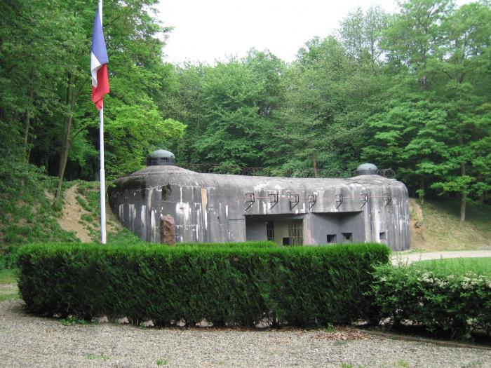 Bunkry francouzské Maginotovy linie
