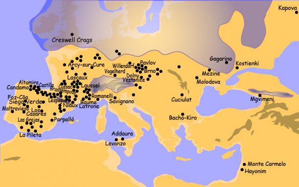 Ve všech těchto lokalitách se našly Venuše.