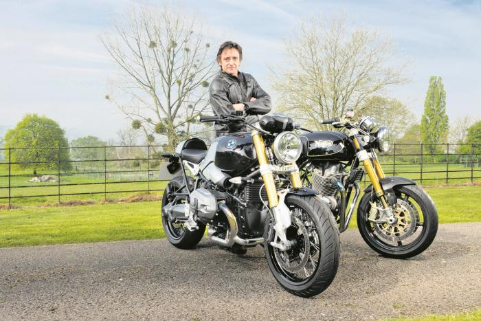 Richard Hammond je velkým fanouškem motocyklů.