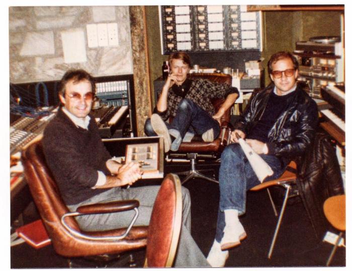 Giorgio Moroder s Davidem Bowiem