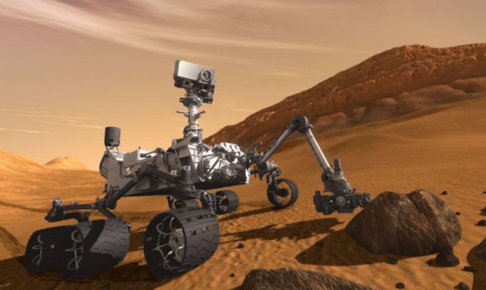 Po povrchu Marsu se zatím prohání jen sonda Mars Rover. Zanedlouho by zde mohl první kroky udělat i člověk.