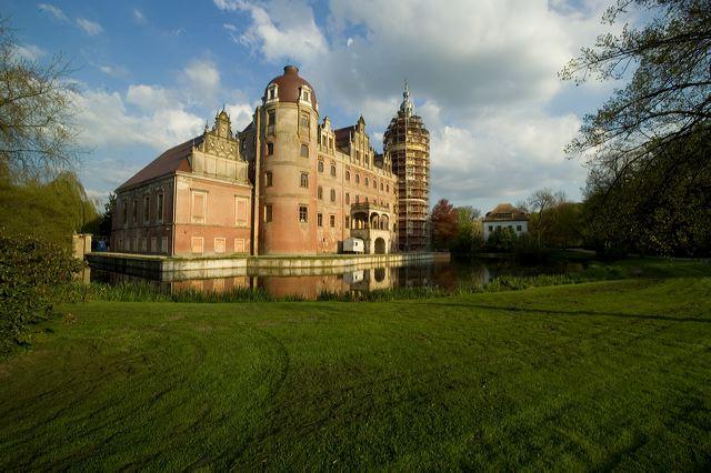 Německá strana Parku (přibližně třetina, zbylé dvě třetiny se nacházejí na polském území)