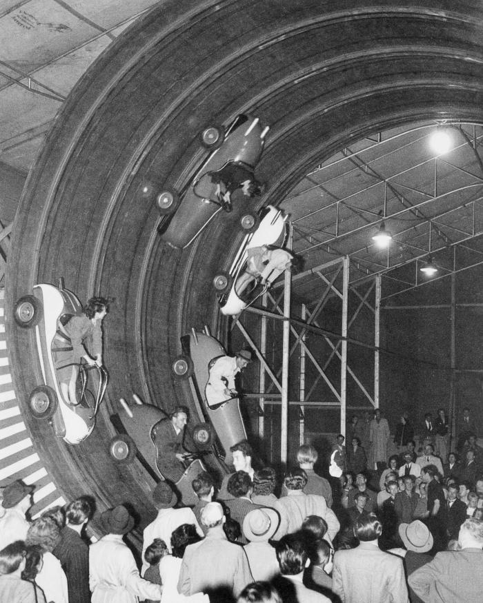 Motodráha – rok 1951