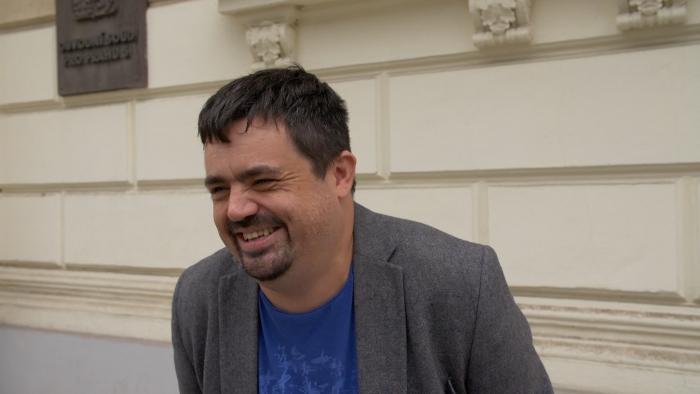 Pavel Novotný před prvním stáním soudu s ortelaty