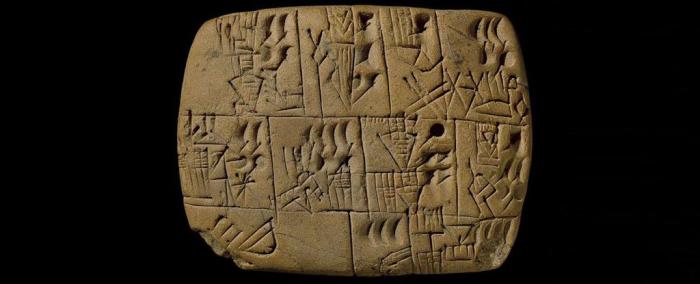 To je ten slavný záznam o pivní odměně, 4. tis. let př.n.l.