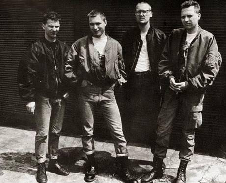 Orlík v roce 1990, Daniel Landa druhý zleva