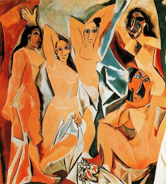 Picassův obraz Avignonské slečny je vůbec nejdražším prodaným obrazem všech dob.