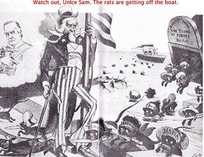 Nahraďte Italy muslimy a dobový komiks z počátku 20. století by mohl uspět i během dnešní protiuprchlické vlny.