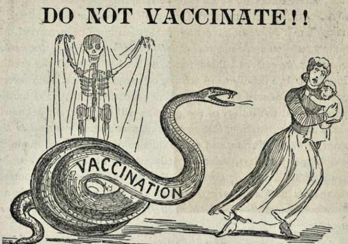 Odpůrci očkování existují již téměř 200 let. Stupidní jsou pořád stejně.