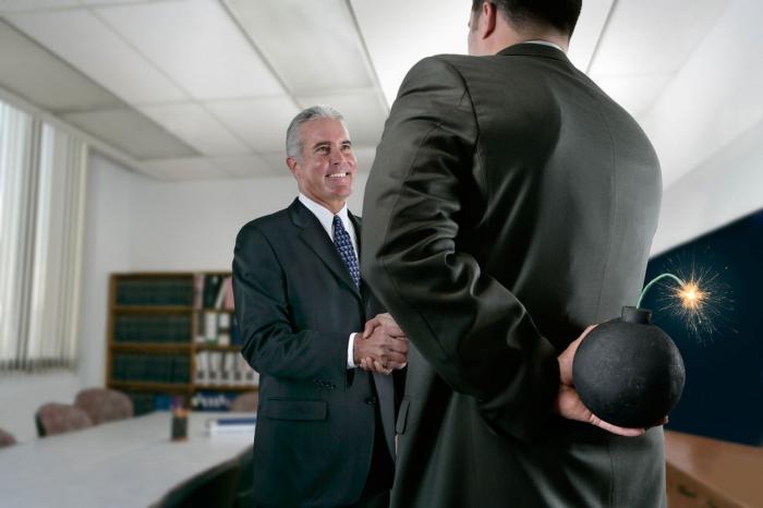 Vyjednávání není poker, abyste při něm blafovali.