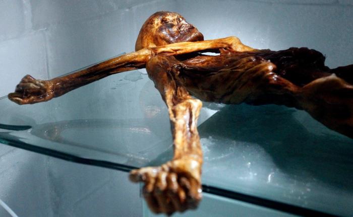 Ledový muž Ötzi je asi nejslavnější mrtvolou na světě. Proč a jak vlastně zemřel, ale nikdo přesně neví.