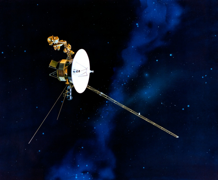 Voyager 1 v mezihvězdném prostoru