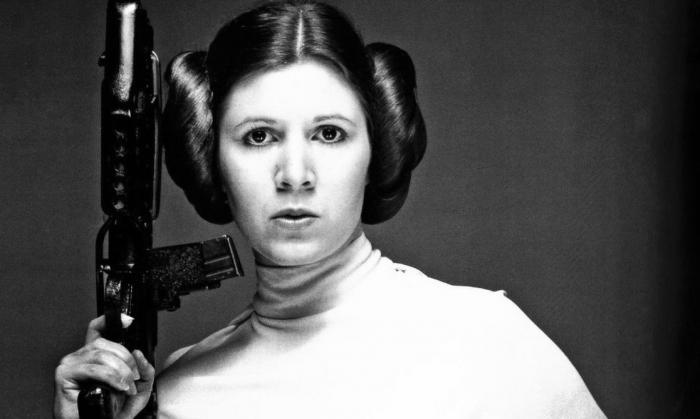 Princezna Leia je jedním ze symbolů filmových sci-fi hrdinek.