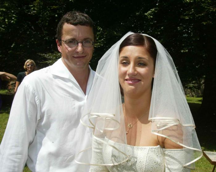 Svatba, léto 2002. Tím to vlastně všechno začalo.