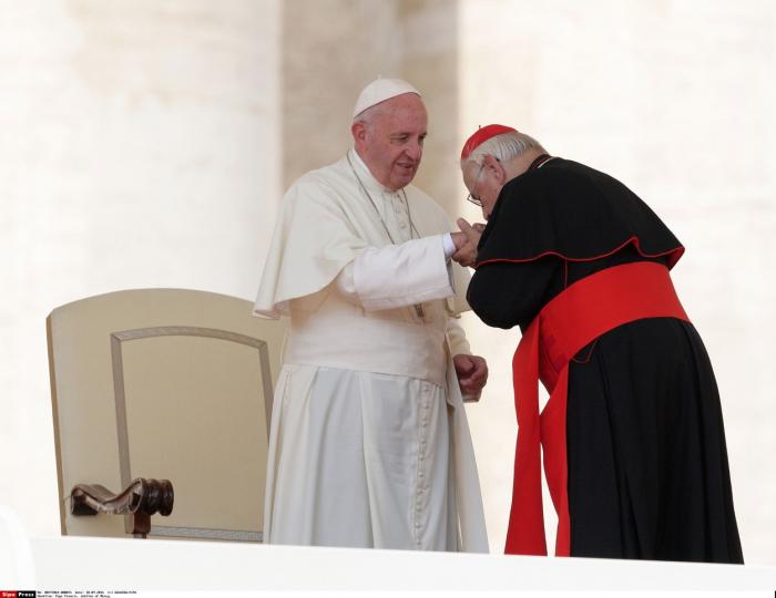 Během své církevní kariéry zažil Vlk 5 papežů. Dva z nich, včetně současného papeže Františka, jako kardinál pomohl zvolit.
