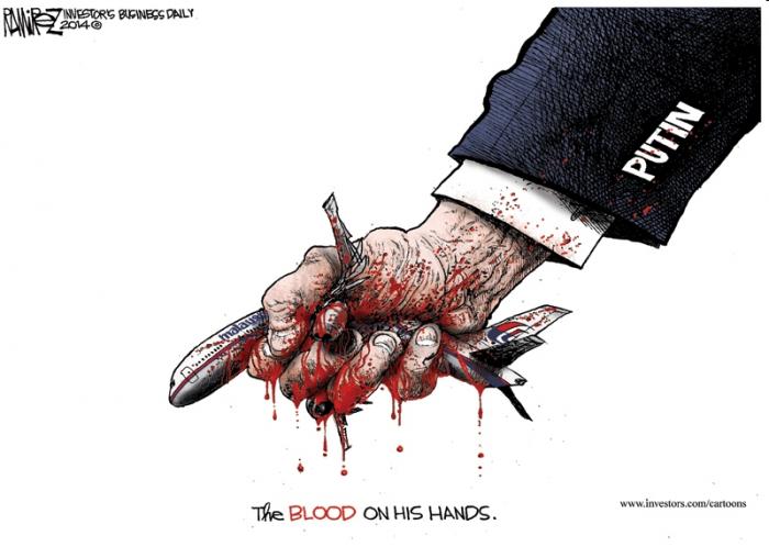 Krev je na jeho rukou